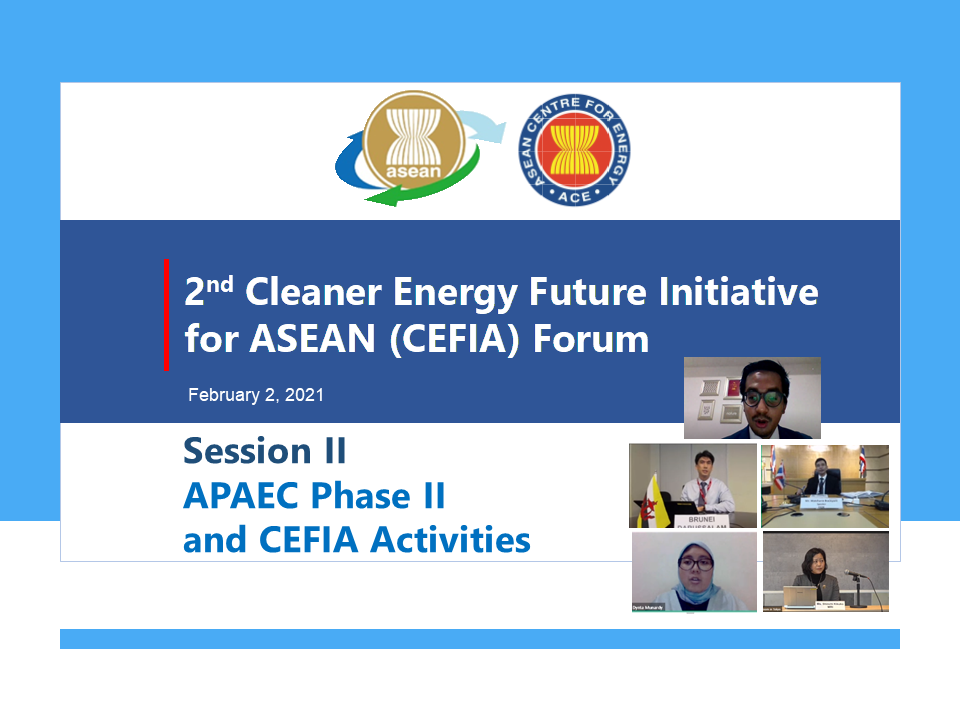 Snapshots from the 2nd CEFIA Forum (Session II)